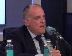 """La discusión entre Tebas y Juanma Castaño por la censura en las entrevistas de LaLiga: """"Es acojonante"""""""