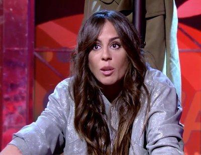 Anabel Pantoja, indignada por las preguntas sobre Kiko Rivera y sus adicciones en 'Sálvame'