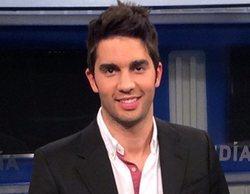 Santi Burgoa, copresentador de 'Cuatro al día' junto a Carme Chaparro