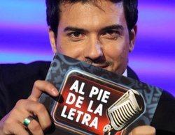 Cuatro prepara el regreso de 'Al pie de la letra', programa que emitió Antena 3 entre 2007 y 2009