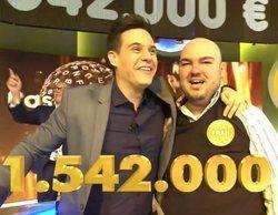 'Pasapalabra': Así fue el emocionante momento en el que Fran González ganó el bote