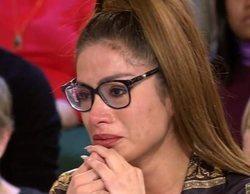 """Miriam Saavedra desconsolada ante las palabras de Jorge Javier: """"Es una rica histriónica borracha de sí misma"""""""