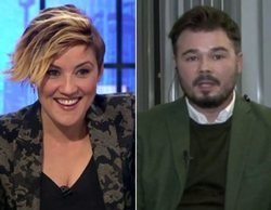 'Liarla Pardo': El zasca de Cristina Pardo a Gabriel Rufián tras sus críticas a Juan Guaidó