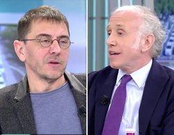 """Fuerte discusión entre Inda y Monedero en 'El programa de Ana Rosa': """"Eres un maltratador constante"""""""