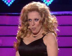 Anabel Alonso olvida la letra de la canción en directo en 'Tu cara me suena' pero lo arregla con humor