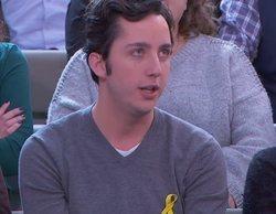 """El pequeño Nicolás aparece en TV3 con un lazo amarillo: """"La situación tiene que acabar"""""""