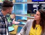 """Sofia pega una colleja a Alejandro en 'GH Dúo' y él explota: """"No voy a permitir que una tía me pegue"""""""