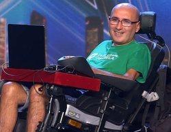 Paz Padilla y Eva Isanta lloran de emoción en 'Got Talent España' con el discurso de José, enfermo de ELA