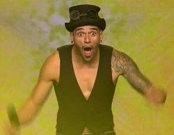 Moisés, contorsionista y faquir, conquista a Risto y se lleva su pase de oro en 'Got Talent España'