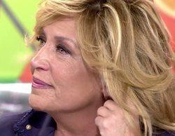Lydia Lozano, muy preocupada en 'Sálvame' por el delicado estado de salud de su marido Charly