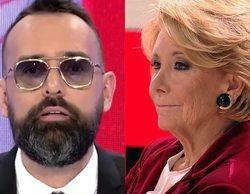 'Todo es mentira': Esperanza Aguirre da plantón a Risto Mejide y le cuelga en pleno directo