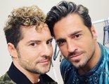 """Así ha sido el reencuentro entre Bustamante y Bisbal en 'La Voz Senior': """"Mucho vivido juntos"""""""