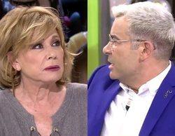 """El zasca de Jorge Javier Vázquez a Mila Ximénez en 'Sálvame': """"A ti te eché dos meses"""""""