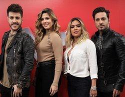 """'La Voz': Bustamante, Miriam, Antonio José y Karol G se estrenan """"como si todos fueran asesores de todos"""""""