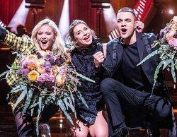 'Melodifestivalen 2019': Hanna Ferm & Liamoo y Malou Prytz superan la segunda semifinal del certamen sueco