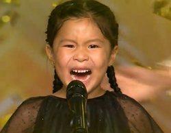 'Got Talent España': Youlan Lin y su violín se llevan el pase de oro de una emocionada Eva Isanta