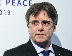 El equipo de 'Dos Cataluñas' devuelve su premio Cinema for Peace por recibirlo de manos de Puigdemont