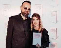 Risto Mejide se reencuentra con Virginia Maestro ('OT 2008') en la presentación de su libro