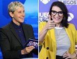 """Ellen DeGeneres alaba a Silvia Abril ante el estreno de 'Juego de juegos': """"¡Qué bueno!"""""""
