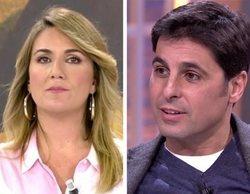 """Carlota Corredera responde a Fran Rivera: """"Me hubiera gustado pararle los pies pero no supe reaccionar"""""""