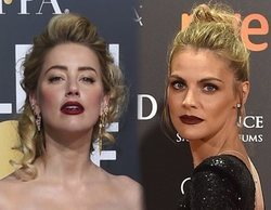 "Amber Heard firma una foto a un fan que la confundió con Amaia Salamanca: ""No te culpo"""