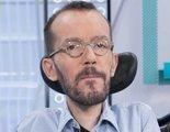 Echenique acusa a 'laSexta Noticias' de vetar a Podemos y el director del informativo responde