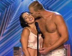 'Got Talent España': Duo Flame y sus románticas acrobacias se llevan el Pase de Oro de Edurne