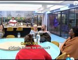 'GH Dúo': Tejado y María Jesús se dan amor bajo una chaqueta en mitad del comedor de la casa