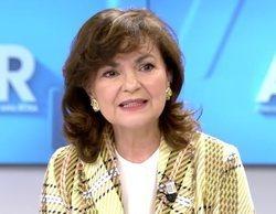 """Carmen Calvo, en 'El programa de Ana Rosa' sobre Cataluña: """"La autodeterminación no se puede aceptar"""""""