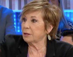 """Celia Villalobos en 'Espejo Público': """"Tiene morbo que Malú sea la primera dama, como pasó con Carla Bruni"""""""