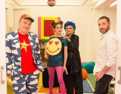 Lucía Bosé, Pablo Carbonell, Cósima Ramírez y Antonio David en 'Gourmet Edition'