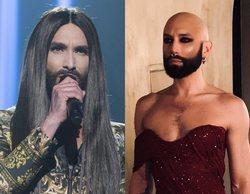 El radical cambio de look de Conchita Wurst tras deshacerse de la peluca pero no de su barba