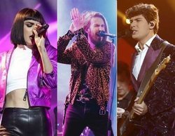 Natalia ('OT 2018') y Alfred coinciden en el concierto de Carlos Sadness en el WiZink Center de Madrid