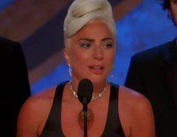 """Lady Gaga emociona con su discurso al recoger el Oscar 2019 por """"Shallow"""": """"No importa cuántas veces caigas"""""""
