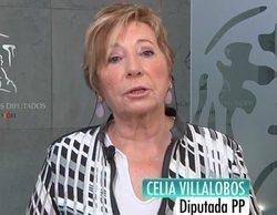 Celia Villalobos agradece a Ana Rosa que la defendiese ante las feministas a la salida del Parlamento andaluz