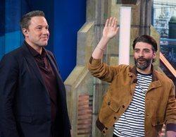 """La visita de Ben Affleck y Oscar Isaac a 'El hormiguero': """"Trabajar con militares fue impresionante"""""""