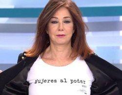 """El alegato feminista de Ana Rosa Quintana por el 8M: """"Queremos trabajo, igualdad y libertad"""""""
