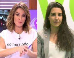 'Cuatro al día': El rifirrafe entre Carme Chaparro y Rocío Monasterio (VOX) por su postura sobre el 8M