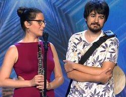 'Got Talent España': Edurne y Paz Padilla otorgan su Pase de Oro conjunto a Wild Mojarras