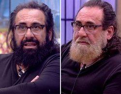 'GH Dúo': El surrealista cambio de look de Juan Miguel con la barba teñida de rubio