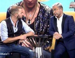 """Jorge Javier, rendido ante la llegada de Antonio Tejado al plató de 'GH Dúo': """"Te has comido el concurso"""""""