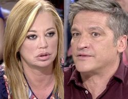 """Belén Esteban se cabrea con Gustavo González por corregirla en 'Sálvame': """"Por lo menos tengo dignidad"""""""