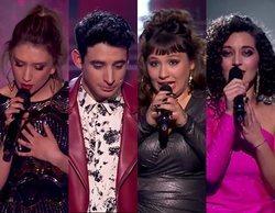 'La Voz': Palomy, Álex, Lia y Susana, concursantes eliminados en el primer directo