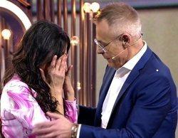 """Maite Galdeano se derrumba por la regañina de Jordi tras visitar la casa de 'GH Dúo': """"Estoy sufriendo mucho"""""""