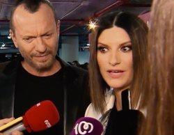 """Laura Pausini se disculpa con Malú por hablar de su relación con Albert Rivera: """"Lo hice mal"""""""