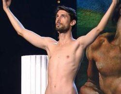'Got Talent España': Un concursante protagoniza un reivindicativo desnudo integral y acaba enfrentado a Risto