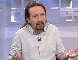 """Pablo Iglesias: """"Me revuelve el estómago que el dueño de Telecinco participara en orgías con menores"""""""