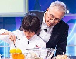 Los concursantes de 'MasterChef Junior' pondrán en apuros a los famosos en las cocinas de 'Juego de niños'