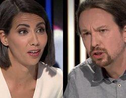 Ana Pastor y Pablo Iglesias protagonizan una tensa entrevista en 'El objetivo':