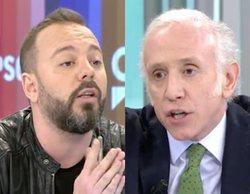 """Bronca cargada de insultos entre Eduardo Inda a Antonio Maestre: """"Será tu madre tonta útil. O tu padre"""""""